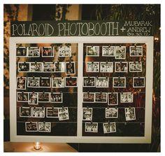 Polaroid Photobooth! | Photo by http://mananetwork.net