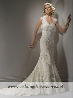 Wedding Dress Bernadette - Wedding Dresses-A-Line / Princess - Bridal Gowns