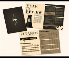Annual report ideas for financial section