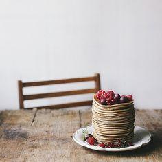 How's about pancakes for breakfast? Никто не вдохновляет меня на кулинарные шедевры так как это делает Света @a_violet_dream by ingwervanille