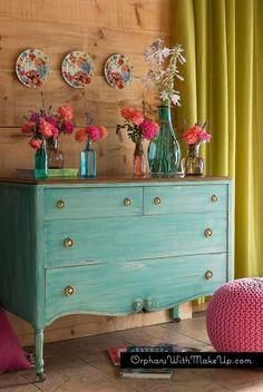 Bohemian Inspired Dresser