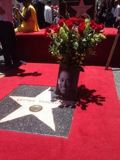 It's official - Luther Vandross is now on the Hollywood Walk of Fame! Hollywood Boulevard, Hollywood Walk Of Fame, He Is Alive, Luther Vandross, Rhythm And Blues, Hip Hop Rap, Rap Music, World Music, Music Publishing