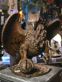Griffin - ooooh from Gargoyles in Seattle