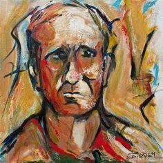 Buy Original Art by Sharon Sieben   acrylic painting   So Sad at UGallery