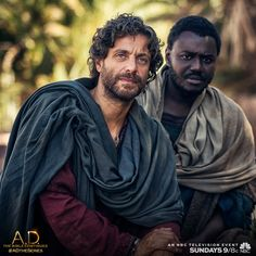 Caiaphas' revenge: Peter and John are arrested TONIGHT on A.D. The Bible Continues. | A.D. The Series