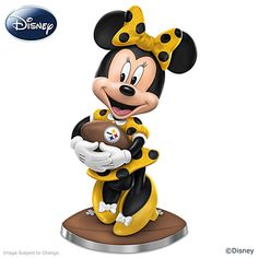 So Minnie Reasons To Love The Steelers Figurine
