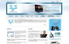 SyS Servicios y Sistemas - Sitio Web con carrito de compras en PHP