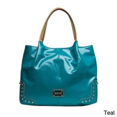 Kenneth Cole Reaction Counterpoint Shiny Tote Bag
