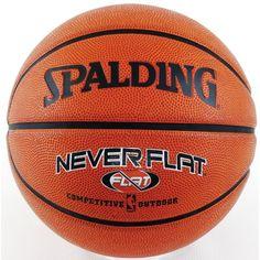 "Woman Basketball Ball - Spalding Never Flat Size 6 28.5"" Basketball"
