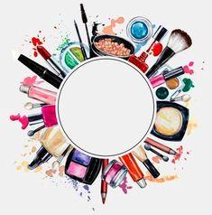 Makeup Tools Wallpaper Hair Beauty - Makeup tools wallpaper & make-up tools tapete & outils de maquillage fond - Makeup Backgrounds, Makeup Wallpapers, Make Up Tools, Tools Tools, Makeup Clipart, Sexy Make-up, Mode Poster, Pink Und Gold, Makeup Illustration