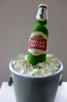 This is frkn awesome!!! Stella Artois Beer Cake | TFB72