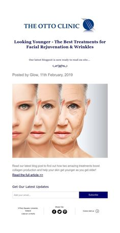 Posted by Glow, February, 2019 Facial Rejuvenation, Look Younger, Collagen, Your Skin, Clinic, How To Find Out, Good Things, Reading, Facials