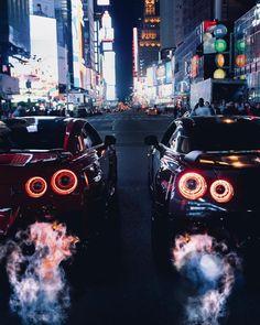 Nissan R35 GT-R x2
