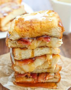 French Toast Grilled Cheese Sandwich | Kirbie's Cravings | A San Diego food blog