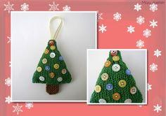 Miau Atelier: Árvore de Natal em Tricô Super Fácil