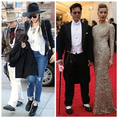From Red Carpet to Real Life: Johnny Depp steps out with Amber Heard, wearing James Jeans in NYC & Ralph Lauren at the Met Gala