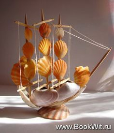 Crafts made of seashells. Ideas and master classes. Discussion on LiveInternet - Russian Service Online Diaries