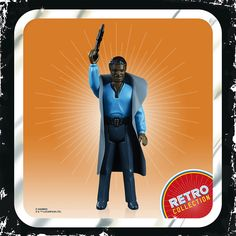 Buy Hasbro Star Wars Retro Collection Lando Calrissian Toy Action Figure today at IWOOT. Star Wars Characters, Star Wars Episodes, Science Fiction, Figurine Star Wars, Lando Calrissian, Big Battle, Cloud City, Star Wars Action Figures, The Empire Strikes Back