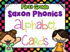 These Saxon Phonics Alphabet Cards are a colorful and vibrant way to display the alphabet in your classroom. Each letter is consistent with the alphabet that comes with the Saxon Phonics program. This is a great way to update your classroom in a fun and easy way!*There are 4 colors included:   -Yellow Polka Dots   -Purple Chevron   -Rainbow   -Blank Background*Interested in the alphabet but don't see the background color/theme that matches your room?