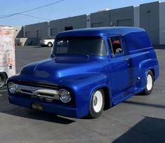 Gmc Trucks, Cool Trucks, 1956 Ford Truck, Panel Truck, Hot Rods, Motors, Classic Cars, Van, Vehicles