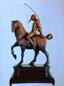 JORGE MARÍN Categoría: Escultura - Instalación. Técnica: Bronce.   Medidas: 130 x 70  x 50 cms. Fecha: 2004. Enmarcada: No. Firmada: Si.  ___________________________________  EQUESTRIAN ARCHIER II Category: Sculpture - Installation . Technique: Bronze . Dimensions: 130 x 70 x 50 cms. Date : 2004. Framed : No. Signed : Yes .  #arte #art #jorgemarin #escultura #sculpture #artemexico #artemexicano #mexicanart #gael #pasionporelarte #galeriartenlinea