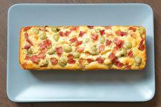 Cake au jambon et aux olives // sans gluten // sans lait