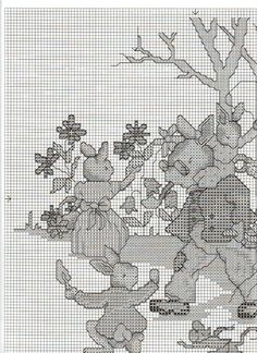Bunnykins Gardening chart 1/4