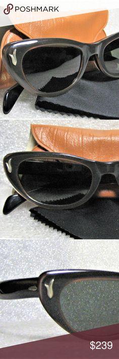 4d410668332 Ray-Ban USA 1950s B L Rare Alita Cateye Sunglasses  Rare Ray-Ban USA