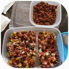 Ensalada de frijoles / Beans salad