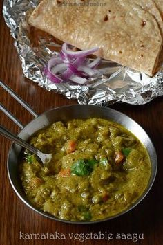 Vegetable Saagu is a coconut based gravy from Karnataka. more like our Vegetable kurma but with much more color and flavor, a great side dish for idli dosa poori or chapathi. Vegetarian Cooking, Vegetarian Recipes, Cooking Recipes, Chef Recipes, Appetizer Recipes, Appetizers, Mix Vegetable Recipe, Vegetable Recipes, Veg Dishes