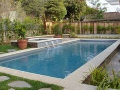 Rectangular Pool Design Ideas, Pictures, Remodel, and