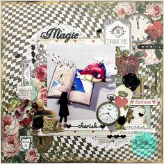 Marion Smith Designs: Alice Layout with Yuko