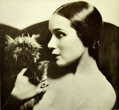 Dolores del Rio (1905-1983) @Kim Kiwi