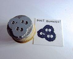 Ruß Sprites  Totoro inspiriert Ruß Sprites Stempel von etchythings