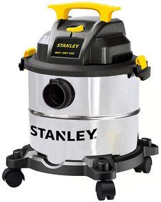 Stanley SL18115 Wet/Dry Wet Dry Vacuum Steel Tank, 5 gallon/4.0 HP/50