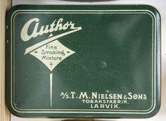 Author Fine Smoking Mixture - T.M.Nielsen & Søns Tobaksfabrik, Larvik