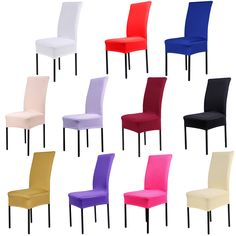 Cheap housse de chaise, Buy Quality de chaise directly from China chair covers spandex Suppliers: Dining Chair Covers Spandex Strech Dining Room cadeira Protector Slipcover Decor housse de chaise for sillas bone silla gorras Dining Room Chair Slipcovers, Dining Chair Seat Covers, Banquet Chair Covers, Dining Stools, Furniture Slipcovers, Dining Room Chairs, Kitchen Chairs, Room Kitchen, Kitchen Furniture