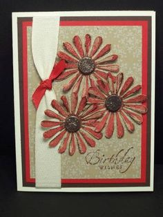 Real, Chocolate Birthday wishes by debhorst - Cards and Paper Crafts at Splitcoaststampers