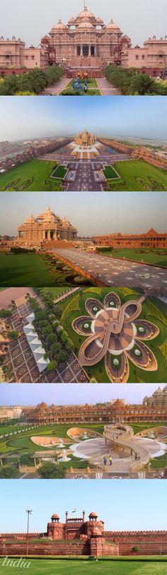 Cloud Nodes Photo - Akshardham is a Hindu temple complex in Delhi, India. Also referred to as Delhi ... 474290529610668