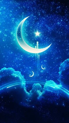 Wall paper unicorn fantasy sky Ideas for 2019 Cute Wallpaper Backgrounds, Pretty Wallpapers, Galaxy Wallpaper, Wallpaper Samsung, Iphone Wallpapers, Beautiful Nature Wallpaper, Beautiful Moon, Digital Foto, Moon Pictures