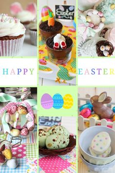 EASTER RECIPE ROUND UP! These dessert recipes and crafts are perfect for Easter and some of them are great to do with your kids!