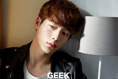 Seo Kang Joon - Geek Magazine March Issue '16