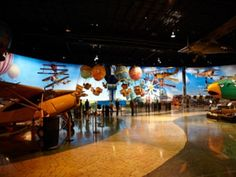 Air Zoo   - Portage MI   The Air Zoo features rides and attractions for all ages!    Photo courtesy of Air Zoo