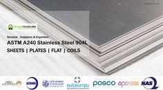 Stainless Steel904L Sheets Suppliers & Exporters. ASTM A240 Stainless Steel 904L Sheets, Plates, Coils Supplier & Exporter from india to Dubai,Usa,Kuwait,Saudiarabia,Qatar,Iran,Kazakistan,israel. SS 904L DIN 1.4539 Sheets & Plates, Stainless Steel 904L Coils, SS 904L Shim Sheets, SS 904L Perforated Sheet Exporters & Supplier in Switzerland, New Zealand,Netherlands, Brazil, Colombia, Egypt, Iraq,Malaysia, Nigeria, Singapore.