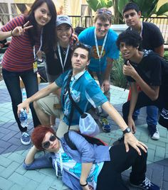 Vidcon 2016 (I HATE when people are like oMG ITS JAIDENS FACE AGH WOAH like SHUT UP PLEASE WOW THE HAS A FACE SHE FINALLY SHOWED IT GOOD FOR HER BUT JUST sTOP AND WATCH HER FACE REVEAL VIDEO ok I'm done:))