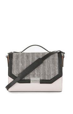 492d916789cb Gemma Whip-Stitch Shoulder Bag