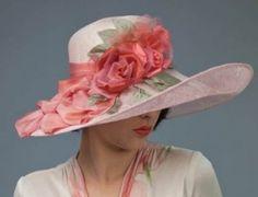 Louise Green Caldecott Hat at Victorian Trading Company by amanda.burritt.3