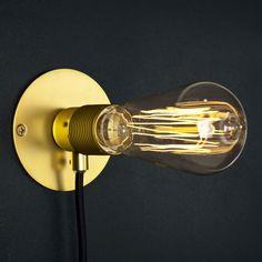 Frama Kit Wall light Brass by Frama - Pop Corn £39.40