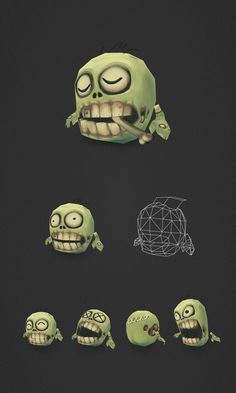 Low Poly Micro Zombie Brian 2 by bitgem on deviantART
