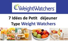 7 Weight Watchers Type Breakfast Ideas to make easily and quickly. Petit Déjeuner Weight Watcher, Menu Weight Watchers, Weight Loss Menu, Weight Watchers Breakfast, Weight Loss Blogs, Ww Recipes, Healthy Recipes, Healthy Food, Weigth Watchers